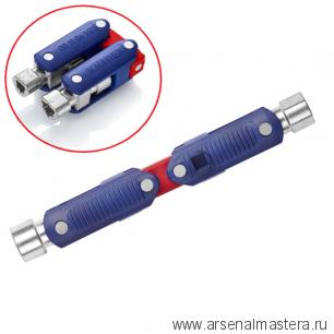 Ключ для электрошкафов DoubleJoint  для семи систем доступа KNIPEX 001106V03 Новинка 2019 года!