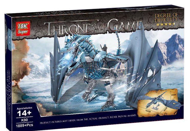 Конструктор дракон Короля ночи - Визерио Игра Престолов