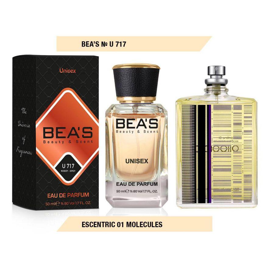 BEA'S (Beauty & Scent) U 717 - Escentric Molecules Escentric 01 Unisex 50 мл