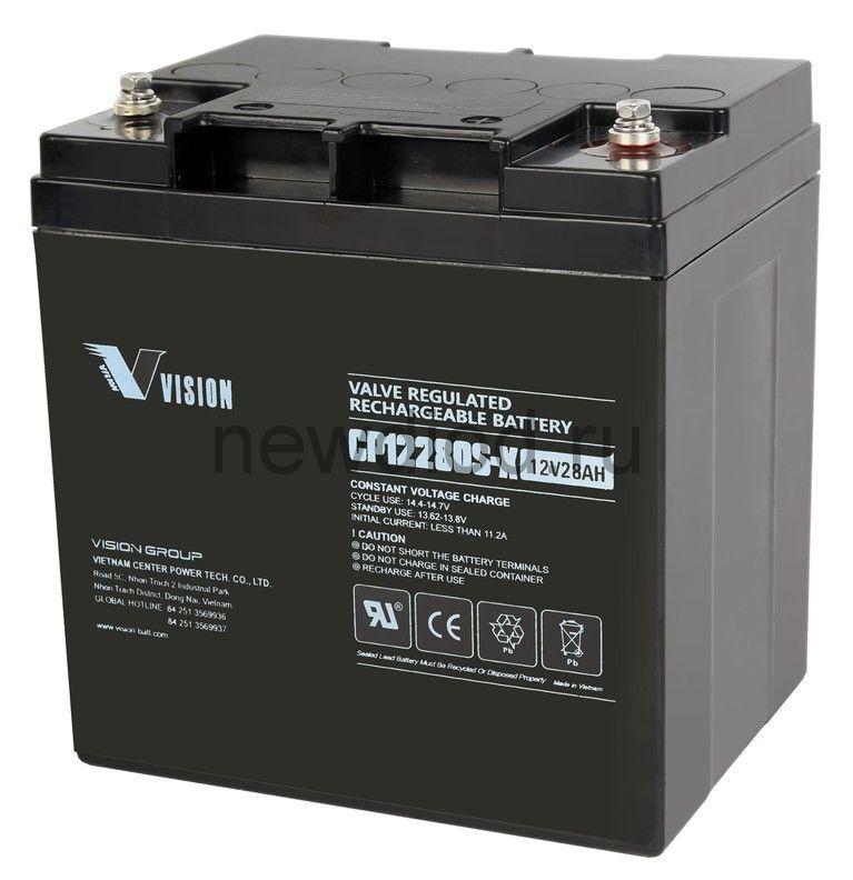 Аккумулятор 12 В 28 Ач, габариты165*125*175 мм.