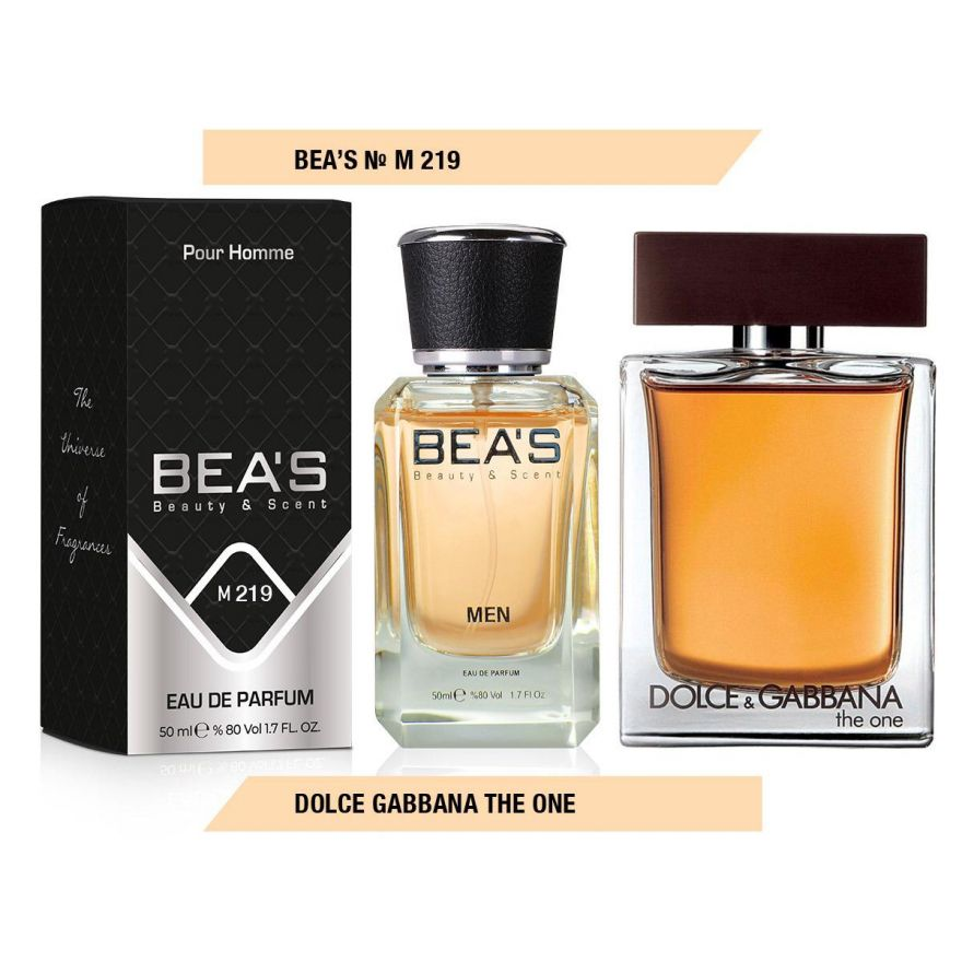 BEA'S (Beauty & Scent) M 219 - Dolce & Gabbana The One For Men 50 мл