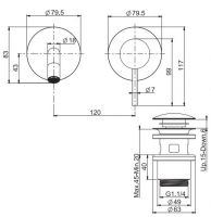 Смеситель для раковины Fima - carlo frattini Spillo steel F3081NX8INOX