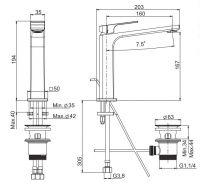 Смеситель для раковины Fima - carlo frattini Fit F3381L