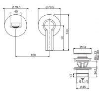 Смеситель для раковины Fima - carlo frattini Mast F3141NLX8