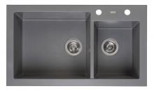 Мойка Reginox Amsterdam 25 R (850х490) Grey Silvery 44363