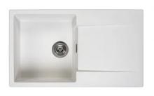 Мойка Reginox Amsterdam 10 (860х500) R реверсивная Pure White R30912