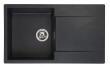 Мойка Reginox Amsterdam 10 (860х500) R реверсивная 44336 Black Silvery