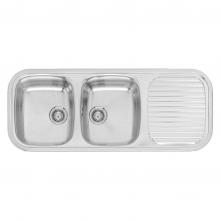Мойка кухонная Reginox egent R30 (1190x480) Lux реверсивная 41099