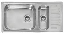 Мойка кухонная Reginox Minister R25 (1000х500) Lux реверсивная 44073