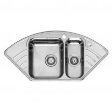 Мойка кухонная Reginox Empire R15 (left/rignt) Lux (1026х500) 2098