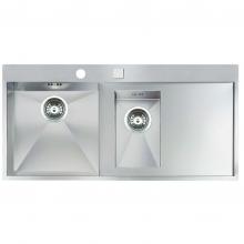 Мойка кухонная Reginox Ontario L 1,5 (left/right, 100Х50) 38641