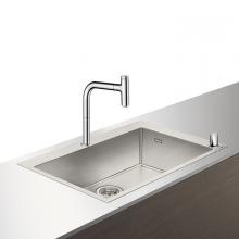 Кухонная мойка с встроенным смесителем Hansgrohe 43202000