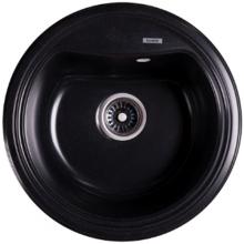 Мойка гранитная Ganzer (черный) GZ51001С