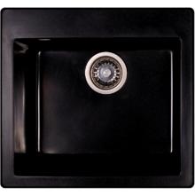 Мойка гранитная Ganzer 45x48,5 см (черный) GZ45485С