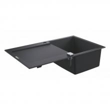 Мойка для кухни (860 x 500) Grohe K500 31644 AP0 (31644AP0) черный гранит