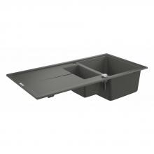 Мойка для кухни (1000 x 500) Grohe K400  31642 AT0 (31642AT0) серый гранит