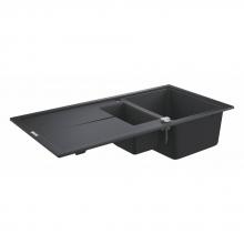 Мойка для кухни (1000 x 500) Grohe K400 31642 AP0 (31642AP0) черный гранит