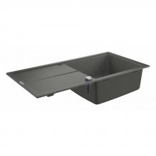 Мойка для кухни (1000 x 500) K400 Grohe 31641 AT0 (31641AT0) серый гранит