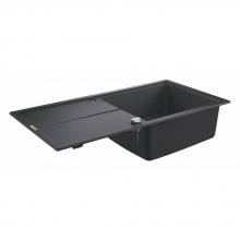 Мойка для кухни (1000 x 500) K400 Grohe 31641 AP0 (31641AP0) черный гранит