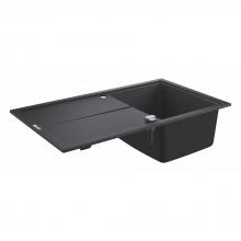 Мойка для кухни (860 x 500) Grohe K400 31640 AT0 (31640AT0) серый гранит