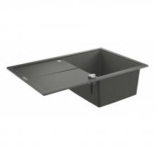 Мойка для кухни (780x500) Grohe K400 31639 AT0 (31639AT0) серый гранит