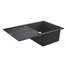 Мойка для кухни (780x500) Grohe K400 31639 AP0 (31639AP0) черный гранит