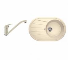 Комплект Blanco TAMOS 45 S (жасмин) + DARAS (жасмин) 521393D2