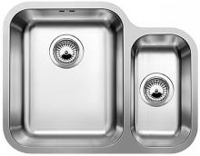 Кухонная мойка Blanco Ypsilon 550-U (с корзинчатым вентилем чаша слева) 518210