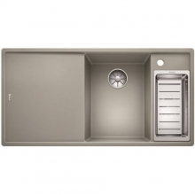 Мойка кухонная Blanco Axia III 6 S Silgranit PuraDur (жемчужный), 523465