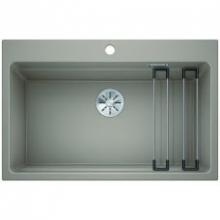 Мойка кухонная Blanco Etagon 8 Silgranit PuraDur (серый беж), 525194
