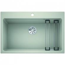Мойка кухонная Blanco Etagon 8 Silgranit PuraDur (жемчужный), 525190
