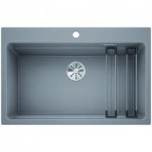 Мойка кухонная Blanco Etagon 8 Silgranit PuraDur (алюметаллик), 525189