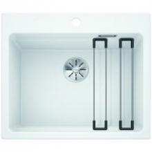 Мойка кухонная Blanco Etagon 6 Silgranit PuraDur (белый), 524543