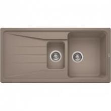 Мойка кухонная Blanco Sona 6S Silgranit PuraDur (темная скала), 519853