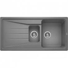 Мойка кухонная Blanco Sona 6S Silgranit PuraDur (алюметаллик), 519854