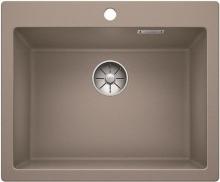 Мойка кухонная Blanco PLEON 6 Silgranit PuraDur (серый беж), 521686