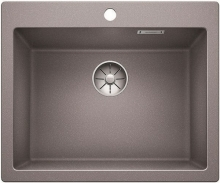 Мойка кухонная Blanco PLEON 6 Silgranit PuraDur (алюметаллик), 521681