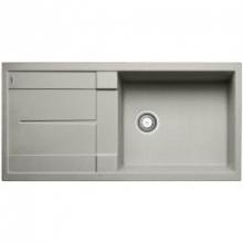 Мойка кухонная Blanco Metra XL 6S Compact Silgranit PuraDur (жемчужный), 520581