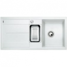 Мойка кухонная Blanco Metra 6S Silgranit PuraDur (белый), 513046