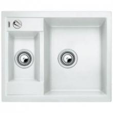 Мойка кухонная Blanco Metra 6 Silgranit PuraDur (белый), 516157