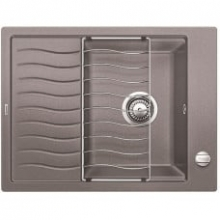 Мойка кухонная Blanco ELON XL 6 Silgranit PuraDur (алюметаллик), 524836