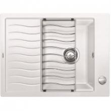 Мойка кухонная Blanco ELON XL 6 Silgranit PuraDur (белый), 524838