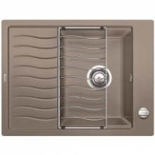Мойка кухонная Blanco ELON XL 6 Silgranit PuraDur (серый беж), 524841