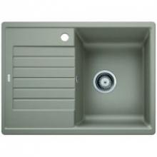 Мойка кухонная Blanco ZIA 45 S Compact SILGRANIT PuraDur (серый беж), 524728