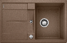 Мойка кухонная Blanco METRA 45 S SILGRANIT PuraDur (мускат), 521881