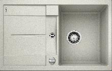 Мойка кухонная Blanco METRA 45 S SILGRANIT PuraDur (жемчужный), 520566