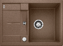 Мойка кухонная Blanco  METRA 45S Compact SILGRANIT PuraDur (мускат), 521885
