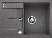 Мойка кухонная Blanco METRA 45S Compact SILGRANIT PuraDur (темная скала), 519573
