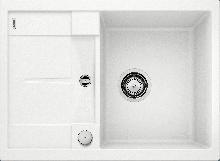 Мойка кухонная Blanco  METRA 45S Compact SILGRANIT PuraDur (белый), 519576