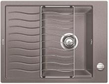 Мойка кухонная Blanco ELON 45S SILGRANIT PuraDur (алюмиталлик), 524816